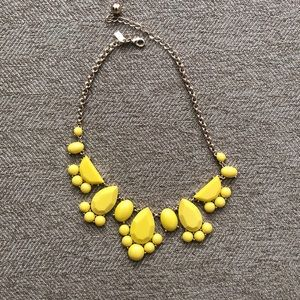 Yellow & gold Kate spade necklace